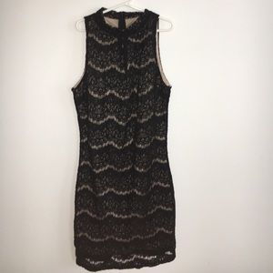 Black lace bodycon dress👗